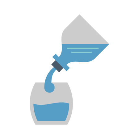Water drink and health icon design. Illustration