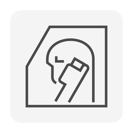 Car accident icon design, 64x64 perfect pixel and editable stroke. Standard-Bild - 124786760