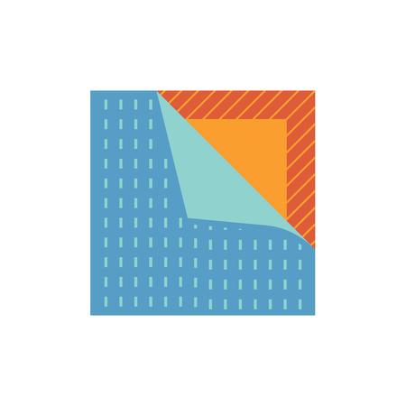 Vinyl floor construction icon on white. Ilustrace