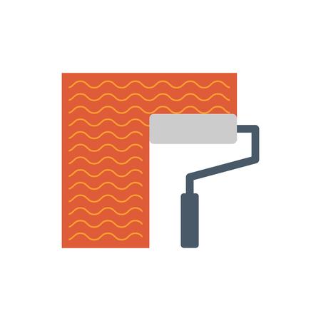 Waterproof and water leak maintenance icon.