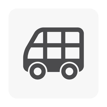 Vehicle icon on white. Ilustracja