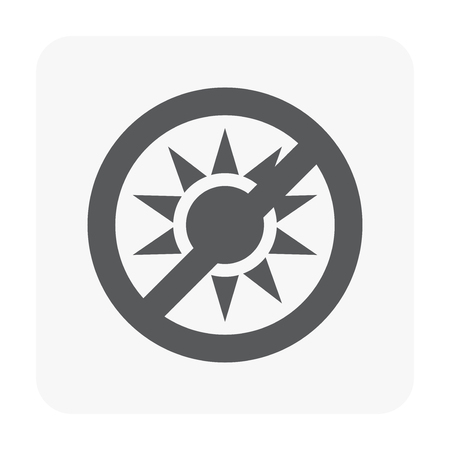 Packaging icon on white.