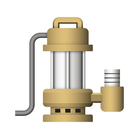 Submerged water pump design.