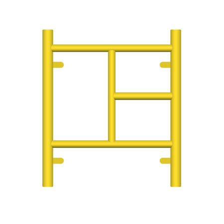 Scaffolding frame icon design.