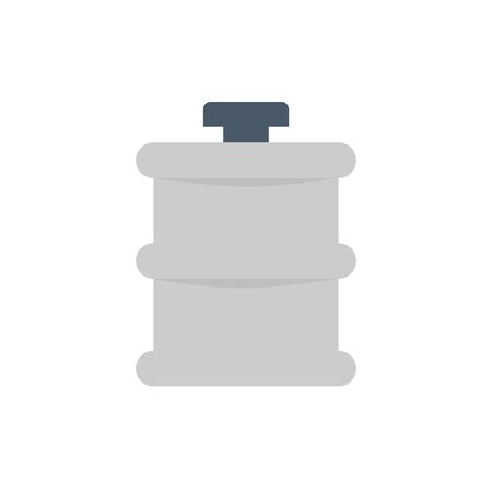 Water tank vector icon design for water work graphic design element. Ilustracja