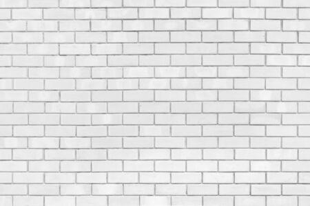 Texture of white brick wall for background. Zdjęcie Seryjne