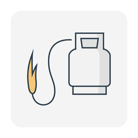 Waterproof and water leak maintenance icon, editable stroke.