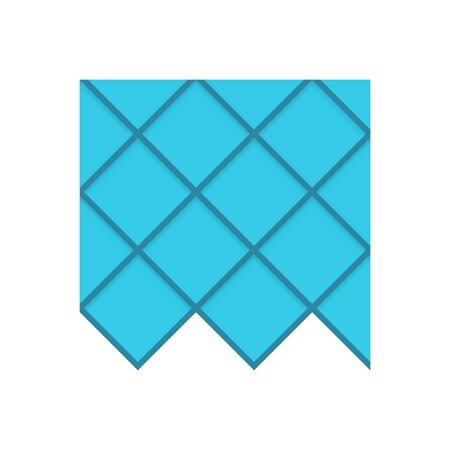 Roofing material icon design.  イラスト・ベクター素材
