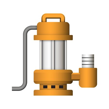 Submerged water pump design.