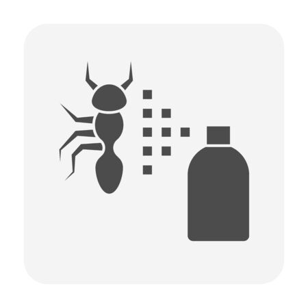 Insect problem vector icon design for home problem graphic design element. Ilustrace