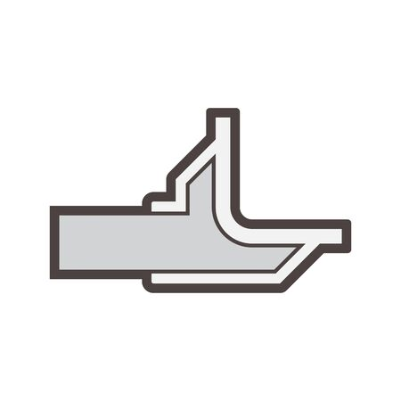 Floor drainage equipment vector icon design.