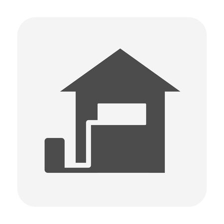 Air conditioner and air compressor icon design.