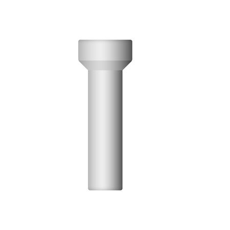 Sewer pipe icon for drainage system.