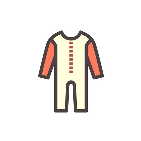 Safety cloth or safety equipment vector icon design.