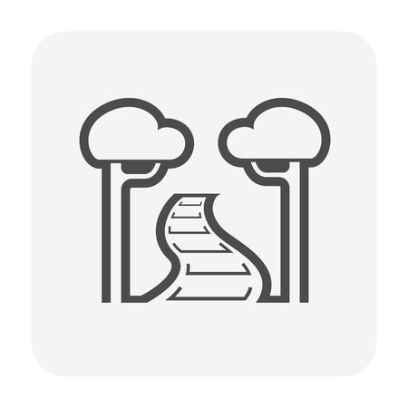Garden and landscaping icon design.