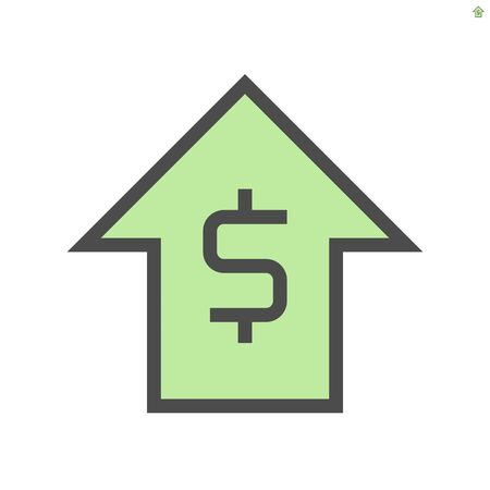 Capital increase concept vector icon design, 48x48 pixel perfect and editable stroke. 版權商用圖片 - 143512485