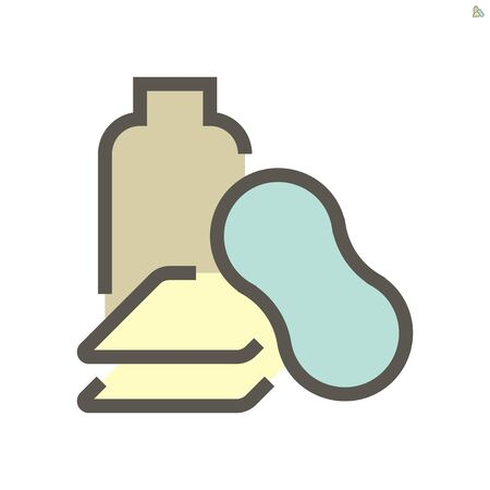Car washing tool vector icon design, 48x48 pixel perfect and editable stroke.