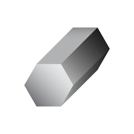 Vector icon of steel  product icon design for steel production industrial graphic design element. 向量圖像
