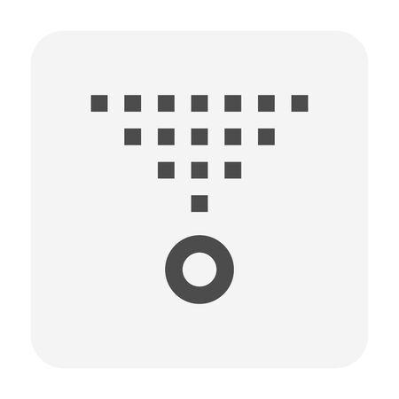 Water sprinkler spray  icon set design. Imagens - 143874550