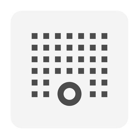 Water sprinkler spray  icon set design. 向量圖像