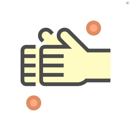 Wash hands and hygiene vector icon design, 64x64 pixel perfect and editable stroke. Иллюстрация