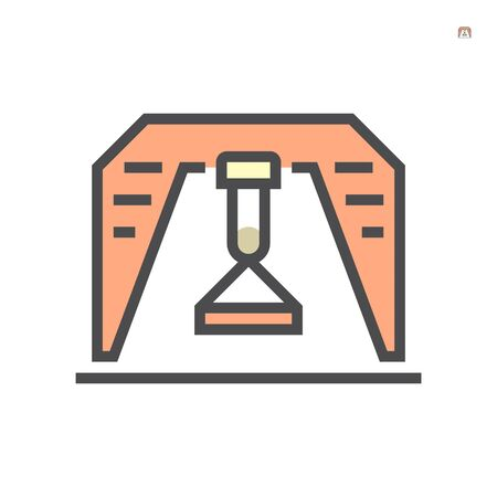 Gantry crane icon, 64x64 perfect pixel and editable stroke.