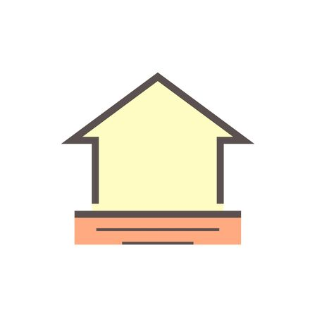 Flooding the house vector icon design.