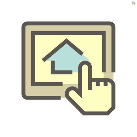 Real estate business vector icon design, 48X48 pixel perfect and editable stroke.