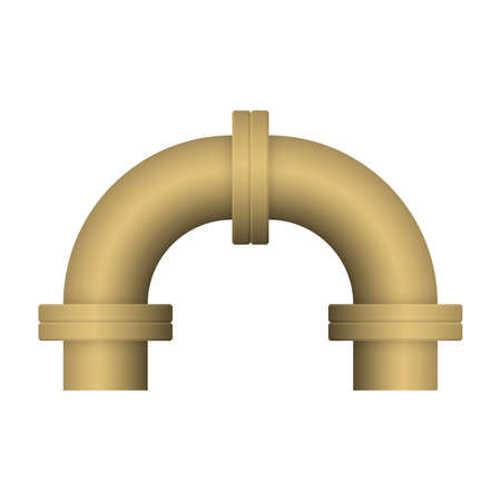 Pipe icon and flange fitting for pipeline connection with valve and other pipe. Using for transportation liquid or gas i.e. crude, oil, natural gas, sewage, wastewater. Also for plumbing, irrigation.