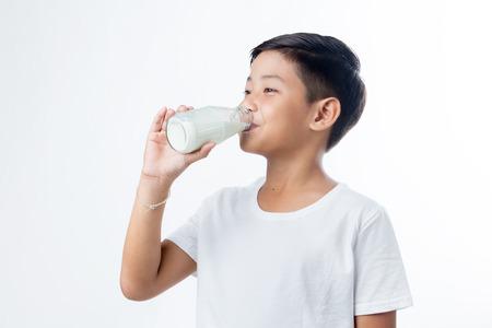 milk mustache: asian pretty boy drink the milk