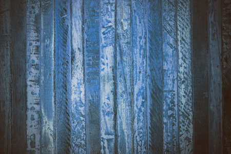 navy blue background: Blue wooden abstract texture. Blue vintage wood background. Abstract texture and background for designers. Macro view of blue wood in vintage style. Blue wood background. Stock Photo