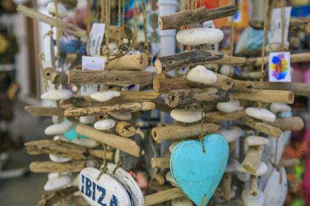 Ibiza souvenirs in the street