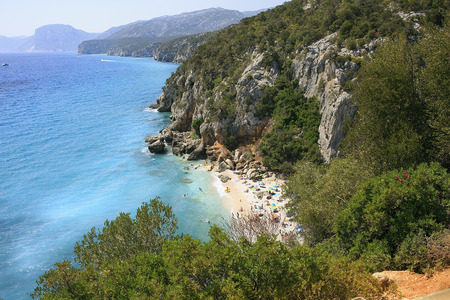 sited: Amazing beach sited in Sardinia