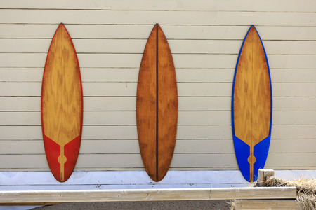 pace: three windsurf tables on the wall