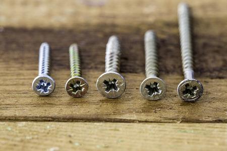 Group of  old oxide vintage tools. screws