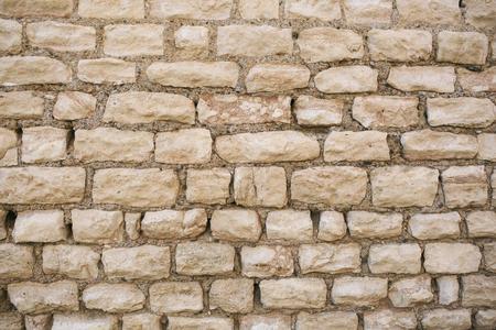 Texture authentic roman stone bricks