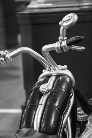 Balloon figures Motor bike