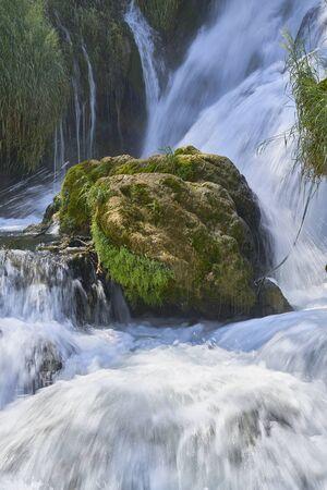 Kravica waterfalls. Bosnia Herzegobina Banco de Imagens - 128595130