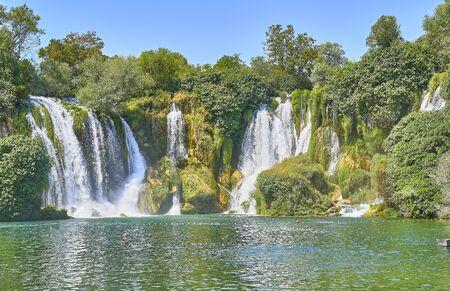 Kravica waterfalls. Bosnia Herzegobina