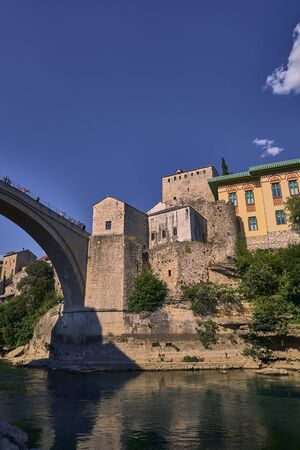 Mostar old bridge.Bosnia Herzegovina