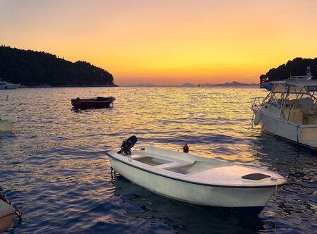 Sunset in Zadar. Croatia. Europe