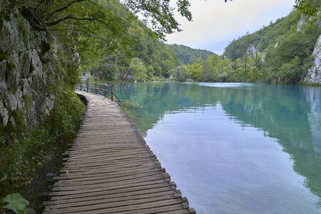 Plivitce National park in Croatia