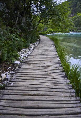 Parque Nacional Plivitce en Croacia