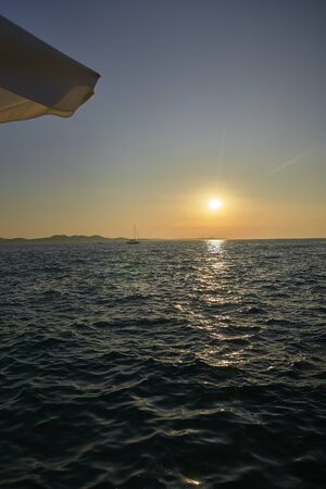 Sunset in Zadar. Croatia. Europe