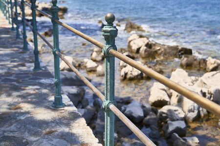 Baluster in the Adriatic sea