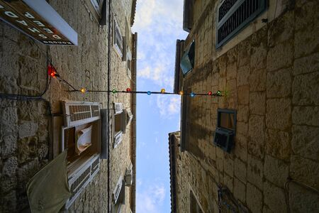Streets of Split city. Croatia