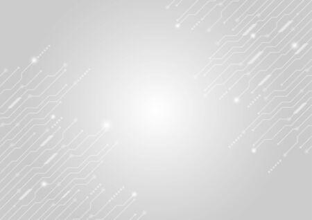 Vektor-Hintergrund abstrakte Technologie-Kommunikationskonzept.