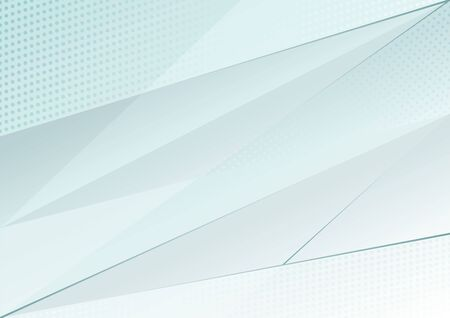 Abstract gradient geometric shape background.