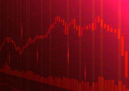 Digital stock market trading background.