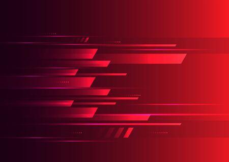 Speed motion futuristic red background. 일러스트